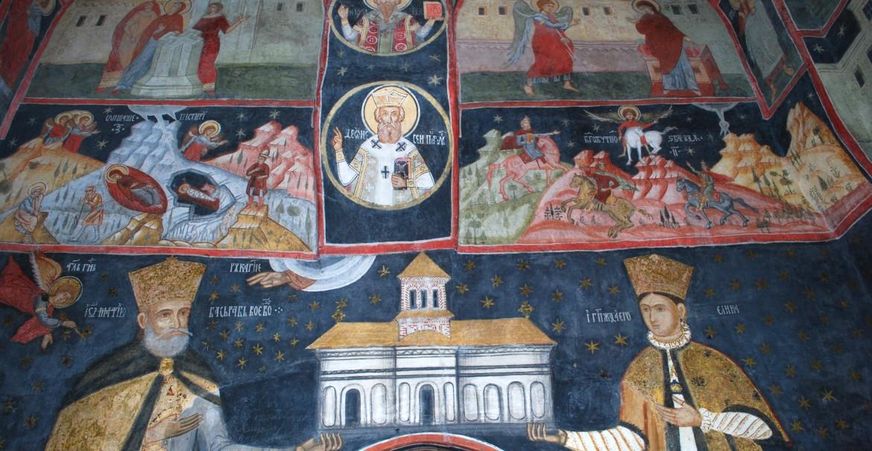 Tabloul votiv al bisericii Mănăstirii Arnota