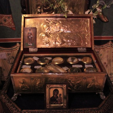 Sfinte Moaşte la Mănăstirea Arnota